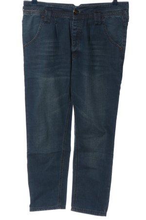 Silvian heach Jeans 7/8 bleu style décontracté