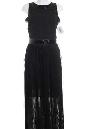 Silvian heach Robe de soirée noir élégant