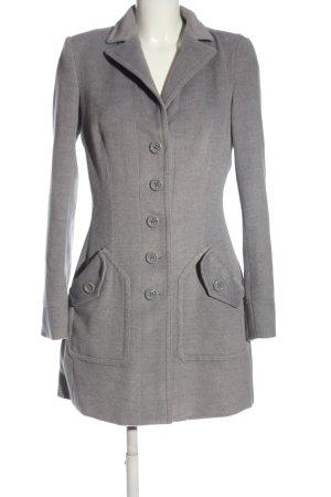 Silvian heach Długi płaszcz jasnoszary W stylu casual