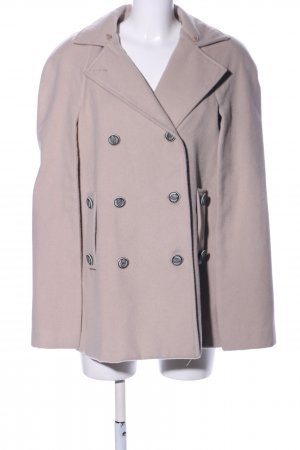 Silvian heach Heavy Pea Coat nude business style