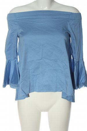 Silvian heach Carmen-Bluse blau Casual-Look