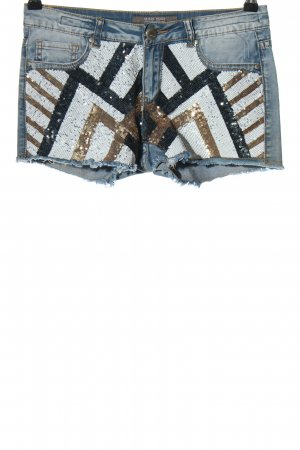 Silvian heach Hot Pants grafisches Muster Casual-Look