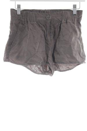 Silvian heach Short moulant gris brun Éléments en plastique