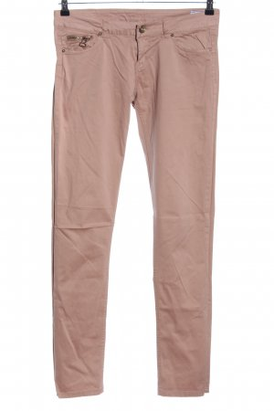 Silvian heach Low-Rise Trousers brown casual look
