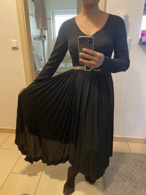 Silvian heach Robe mi-longue noir