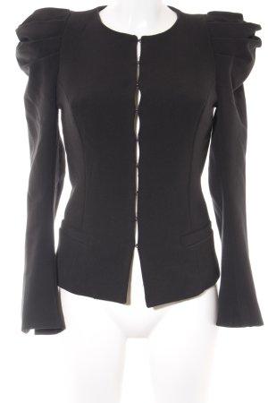 Silvian heach Veste courte noir style simple