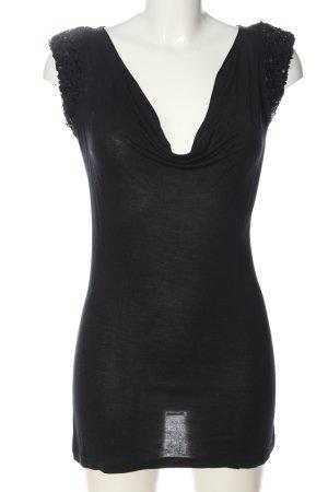 Silvian heach Lange top zwart elegant