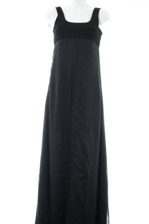 Silvian heach Robe longue noir élégant
