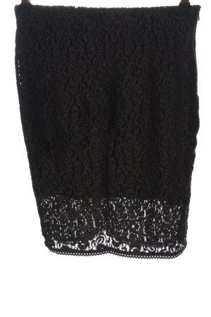 Silvian heach Jupe mi-longue noir élégant