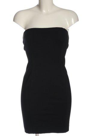 Silvian heach Mini vestido negro elegante