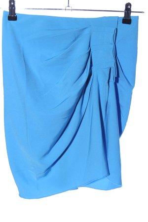 Silvian heach Minirock blau Casual-Look