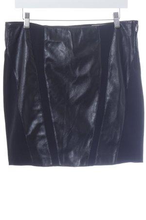 Silvian heach Mini rok zwart casual uitstraling