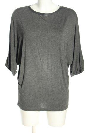 Silvian heach Oversized Shirt hellgrau meliert Casual-Look