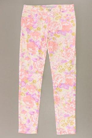 Silvian Heach Regular Jeans lila Blumenmuster Größe 36