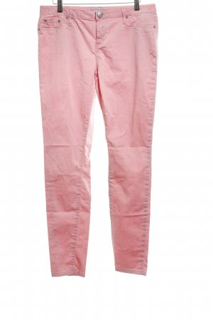 Silvian heach Drainpipe Trousers pink casual look