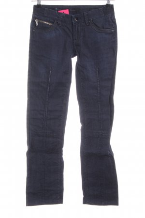 Silvian heach Jeans skinny bleu style décontracté