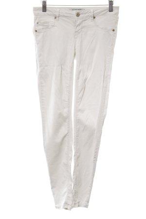 Silvian heach Jeans skinny gris clair style décontracté