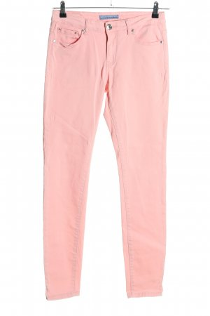 Silvian heach Jeans slim rose style décontracté