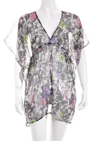 Silvian heach Tunikabluse florales Muster Gypsy-Look