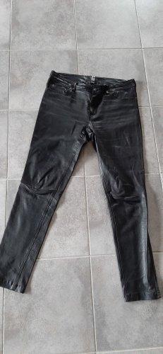 Silvie Schimmel Pantalón de cuero negro
