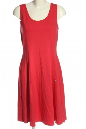 Simclan A-Linien Kleid rot Casual-Look