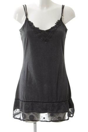 Simclan Trägerkleid schwarz Elegant