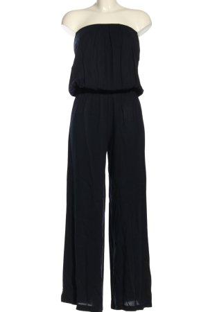 Simmore Langer Jumpsuit blau Casual-Look
