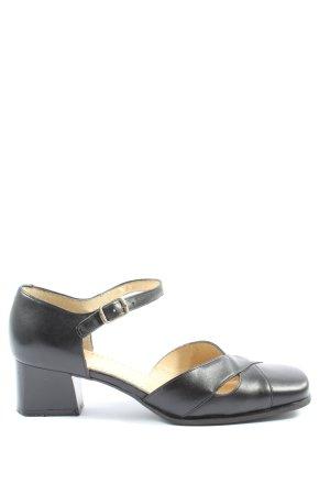 SIMONA Chaussures Mary Jane noir élégant