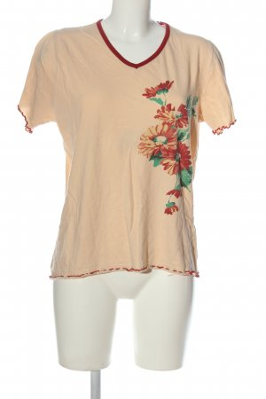 Simone T-Shirt flower pattern casual look