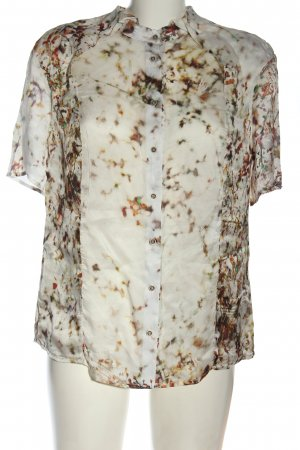 Simple Short Sleeve Shirt abstract pattern casual look
