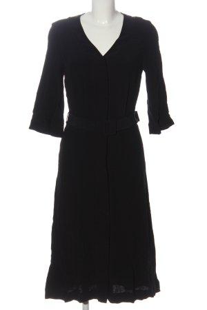 Simple Midi Dress black flecked
