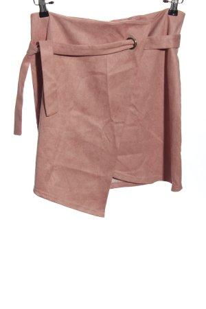 Simple Midi Skirt pink casual look