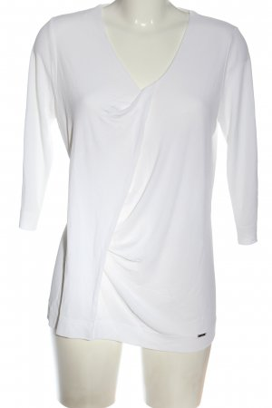 Simple Slip-over Blouse white casual look