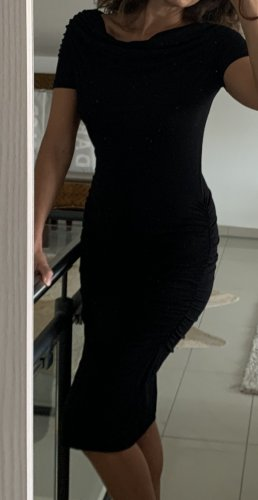 Simple, schwarzes hautenges, sexy Kleid, 36