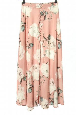 Simplee Maxi Skirt allover print casual look