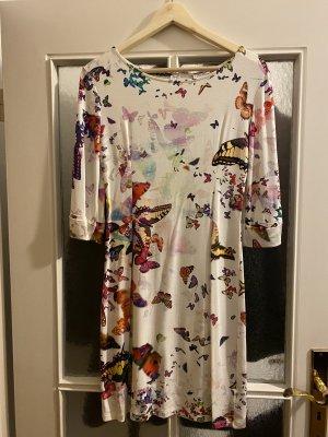 Simplicity New York  S wunderschönes Kleid bunt Schmetterlinge