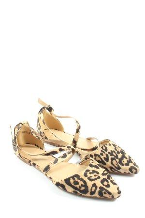 Simply Be Ballerines à lacets motif léopard style décontracté