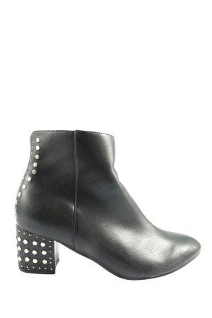 Simply Be Reißverschluss-Stiefeletten schwarz Casual-Look