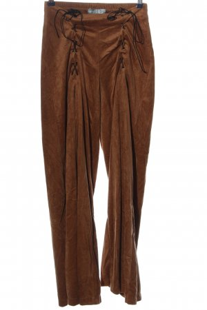 Simply the best Flares brown casual look