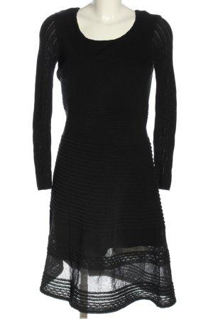 Simply Vera Wang Robe en maille tricotées noir style décontracté