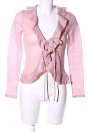 Strickjacke pink Casual-Look