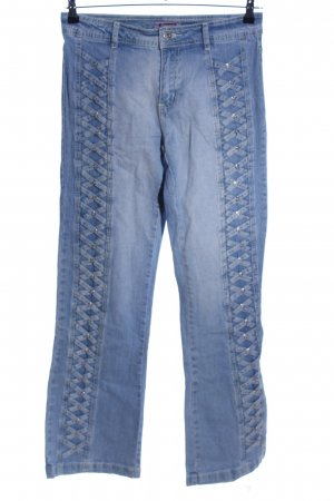 Sincere Boot Cut Jeans blau Casual-Look