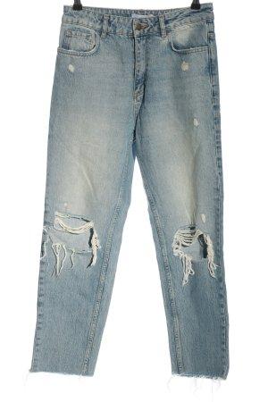 Sincerely Jules Jeans boyfriend blu Cotone