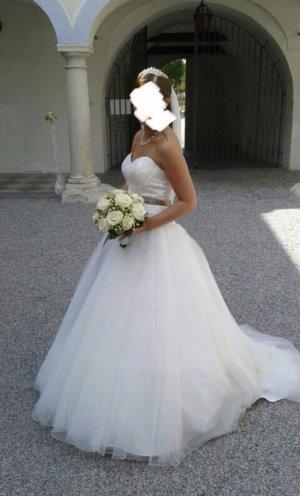 Sincerity Suknia ślubna biały-jasnobrązowy