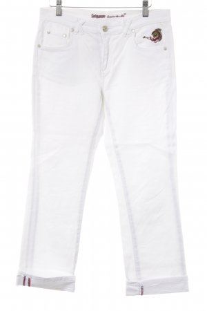 Sinéquanone 7/8 Jeans Blumenmuster