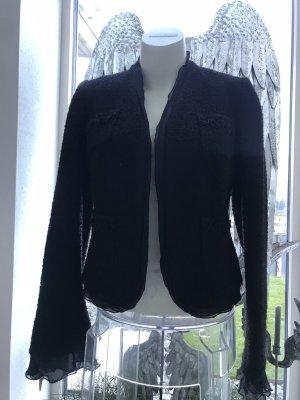 Sinéquanone Blazer en tweed noir
