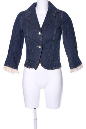 Sinéquanone Jeansblazer blau-wollweiß Casual-Look