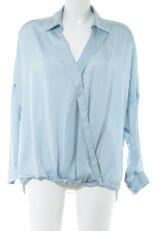 Sinéquanone Langarm-Bluse blau Business-Look