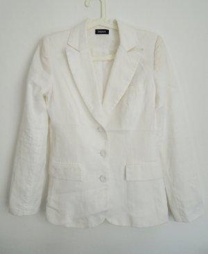 Sinéquanone Veste de smoking blanc-blanc cassé lin