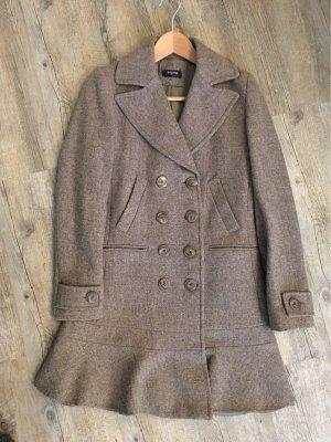 Sinéquanone Cappotto in lana marrone-grigio